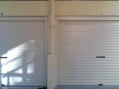 Double roller doors